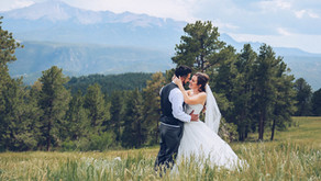 EDGEWOOD WOODLAND PARK WEDDING PHOTOGRAPHER |COLORADO SPRINGS WEDDING PHOTOGRAPHY