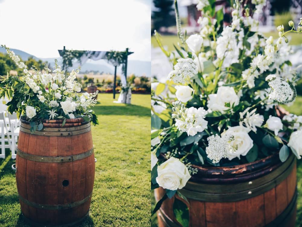 ceremony floral display