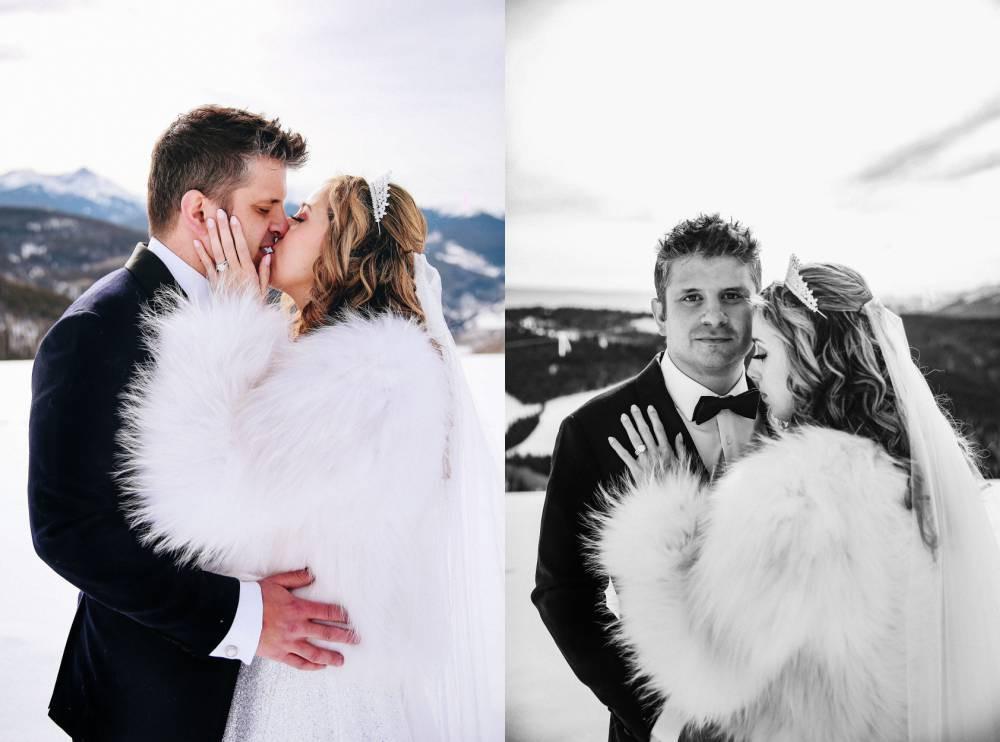 Copper Mountain winter wedding