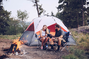 colorado camping engagement session