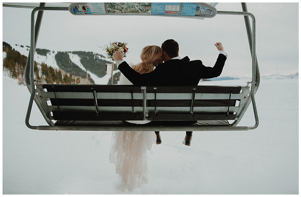 Ski Resort Winter Wedding Inspiration