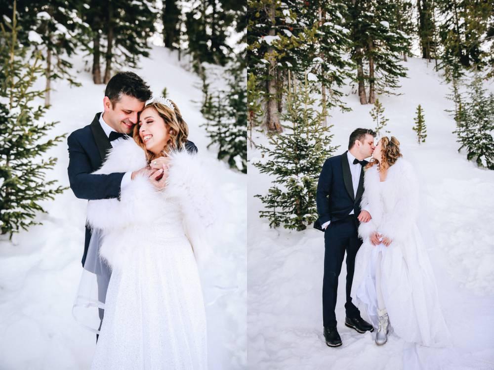 Vail Winter wonderland Wedding