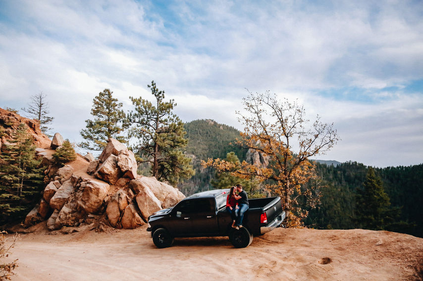 Colorado Offroading Engagement Session