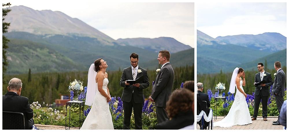 Ten Mile Station Wedding Ceremony