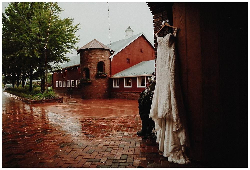 Blue Bridal Boutique Dress