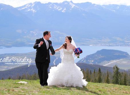 Keystone Wedding - Brian + Annie - Destination Mountain Wedding at the Keystone Outpost