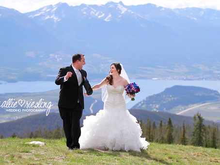 Keystone Wedding - Brian + Annie - Destination Mountain Wedding at the Keystone Outpost