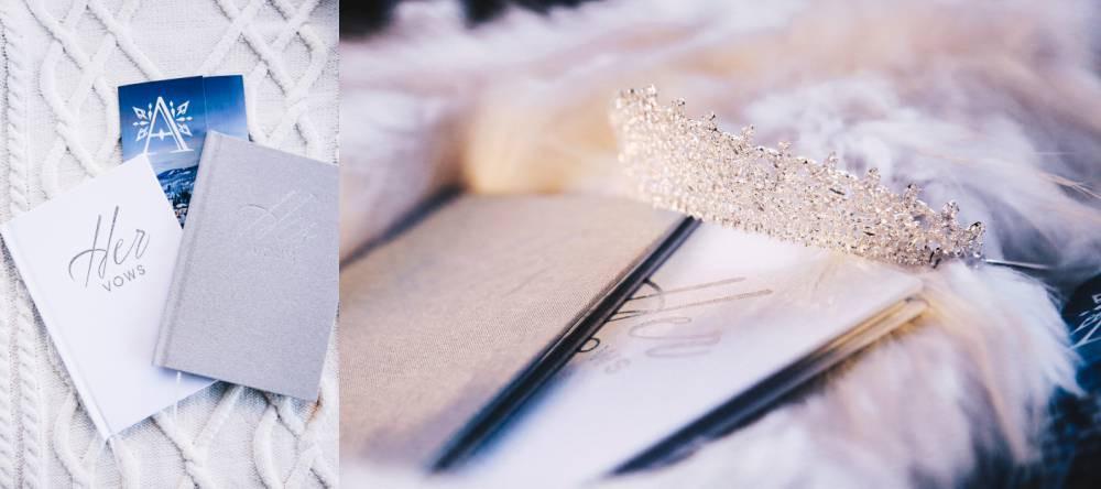 Snowy Wedding Accessories
