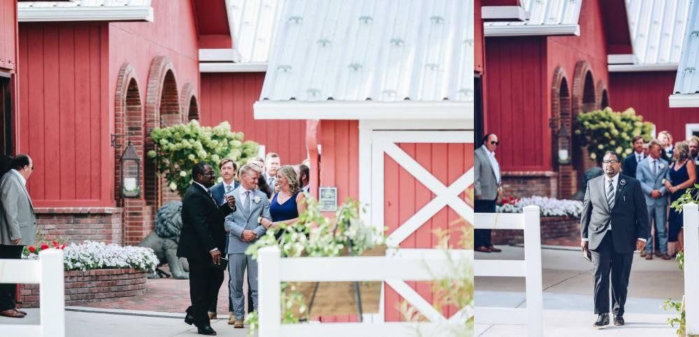 processional wedding photos