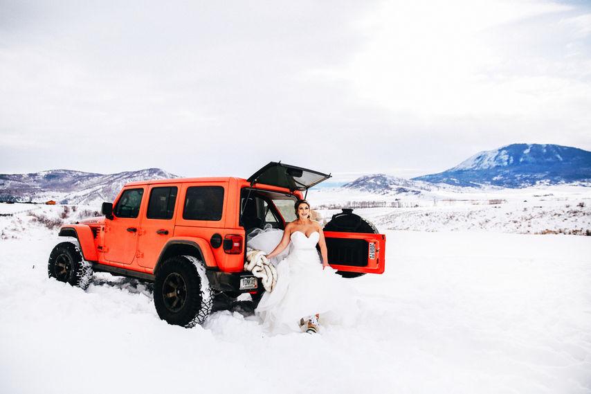 Colorado Jeep Wedding