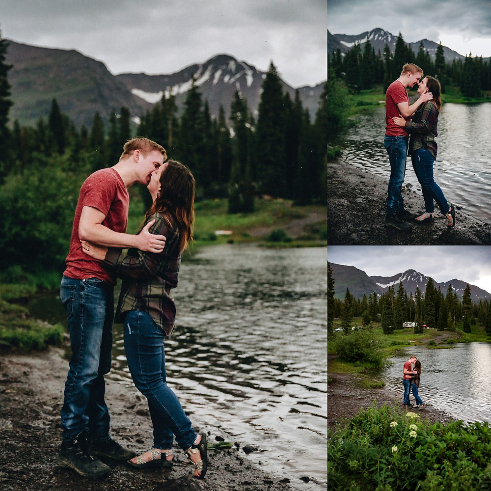 Colorado Lake Engagement Session