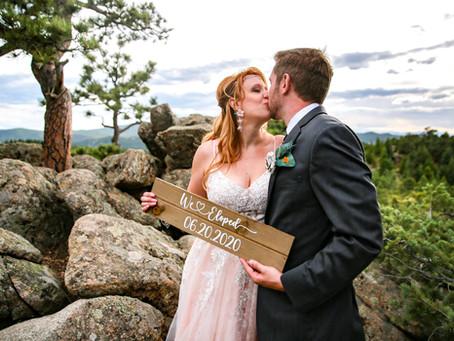 The Realities of Covid Weddings - Colorado Elopement Photographer