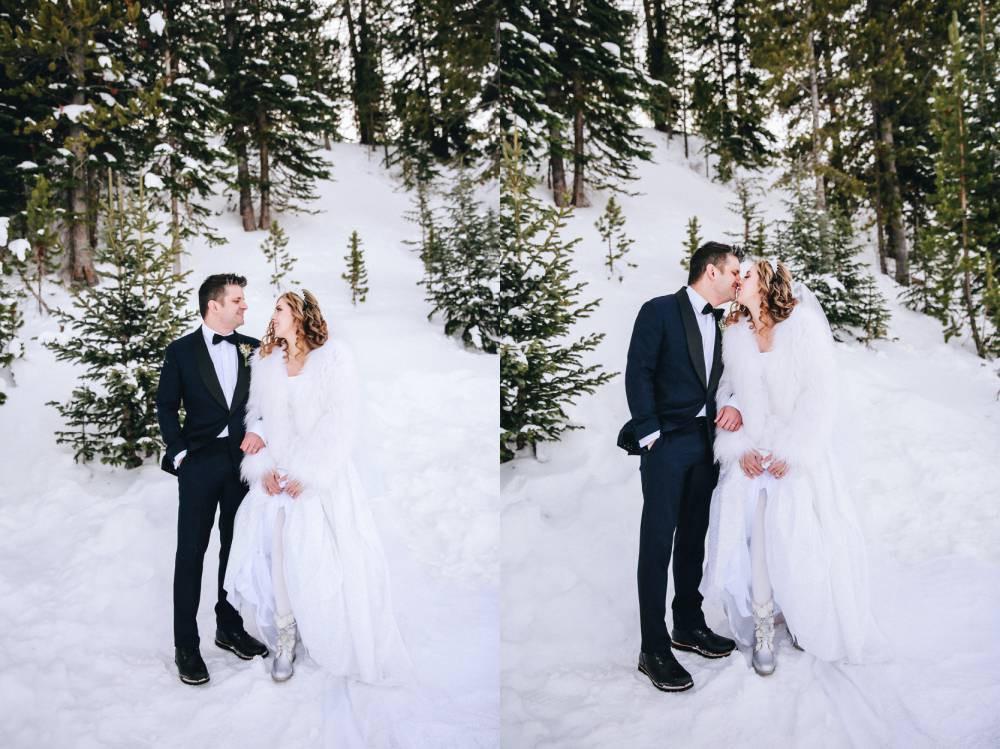 Keystone Winter Wedding Photographer