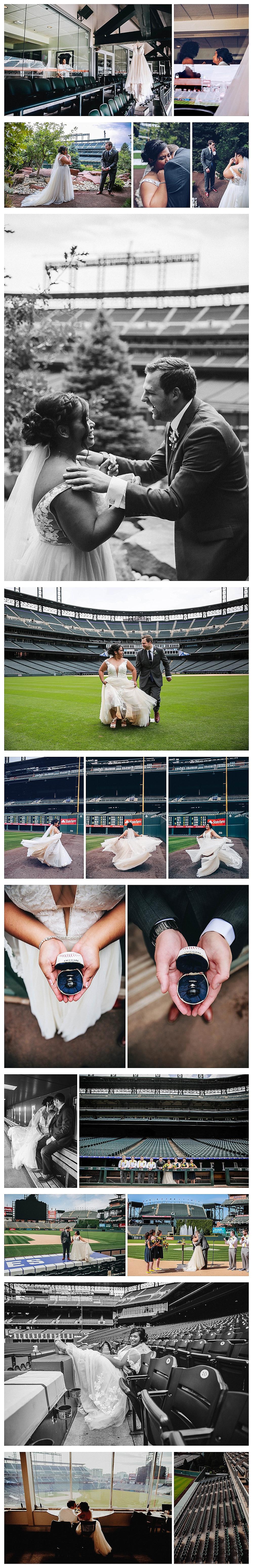 Coors Field Wedding Photographer