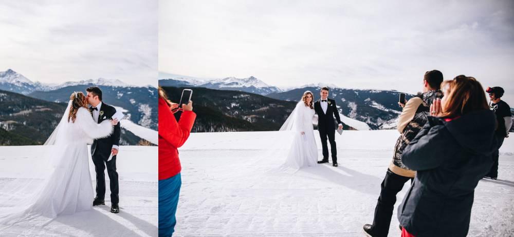 Vail Winter Elopement Photographer