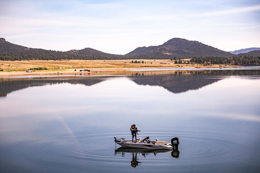 Colorado Bass engagement session