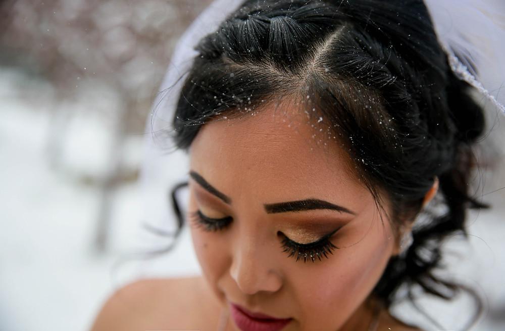 winter wedding makeup colorado springs