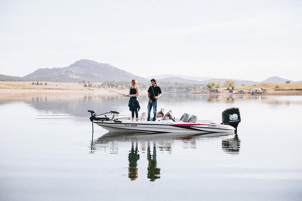 Fishing Boat Engagement Session Ideas