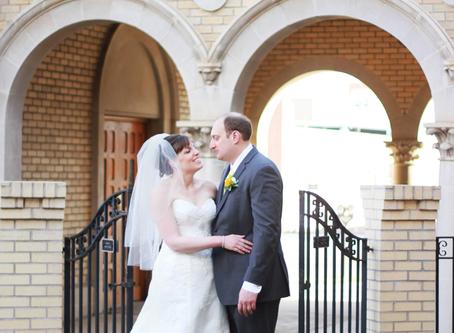 Downtown Colorado Springs Wedding - Chris + Martha - Colorado Wedding Photographer