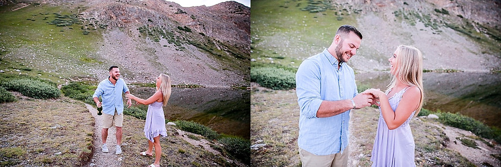 Loveland Pass Proposal Photographer