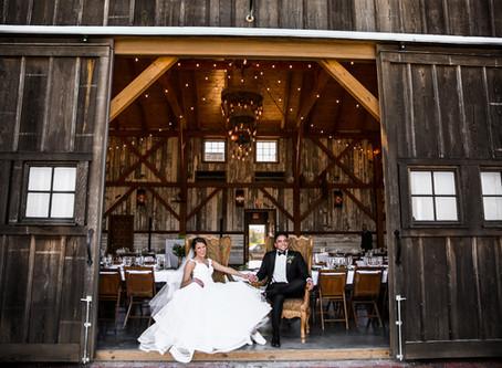 Kansas City Wedding Photographer - Ian + Aubrey's Tuscan Styled Weston Red Barn Farm Wedding - D