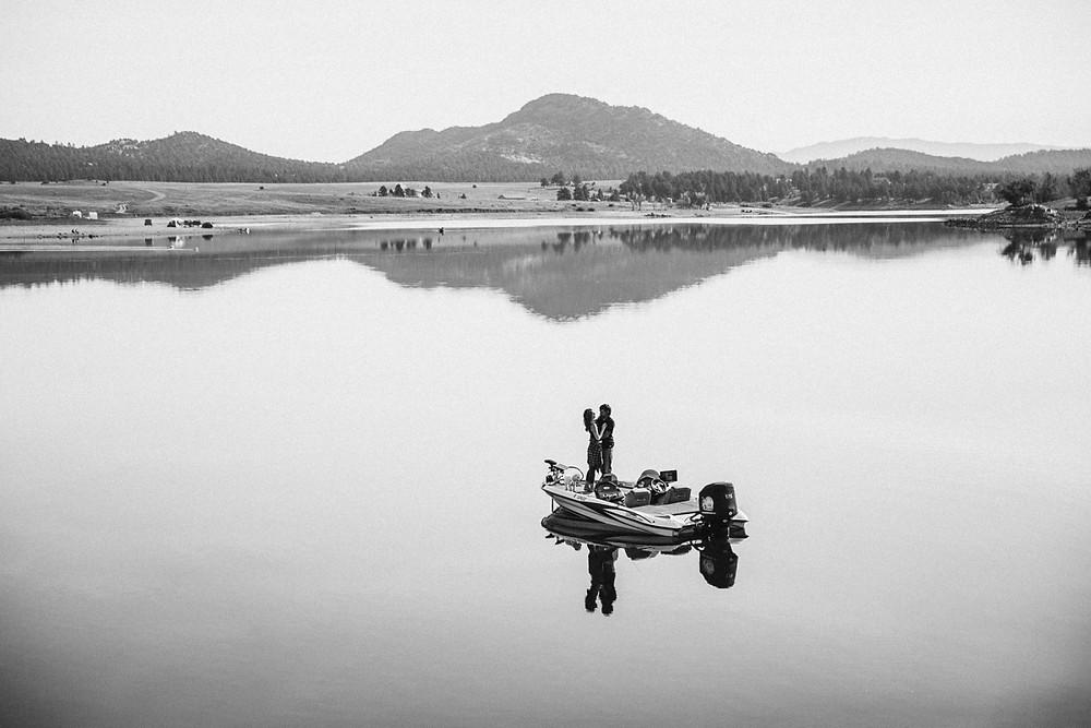 Fishing Boat Engagement Session