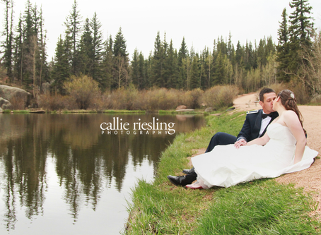 Air Force Academy Wedding - Farish Recreational Area - Dan + Janelle - Air Force Wedding Photographe