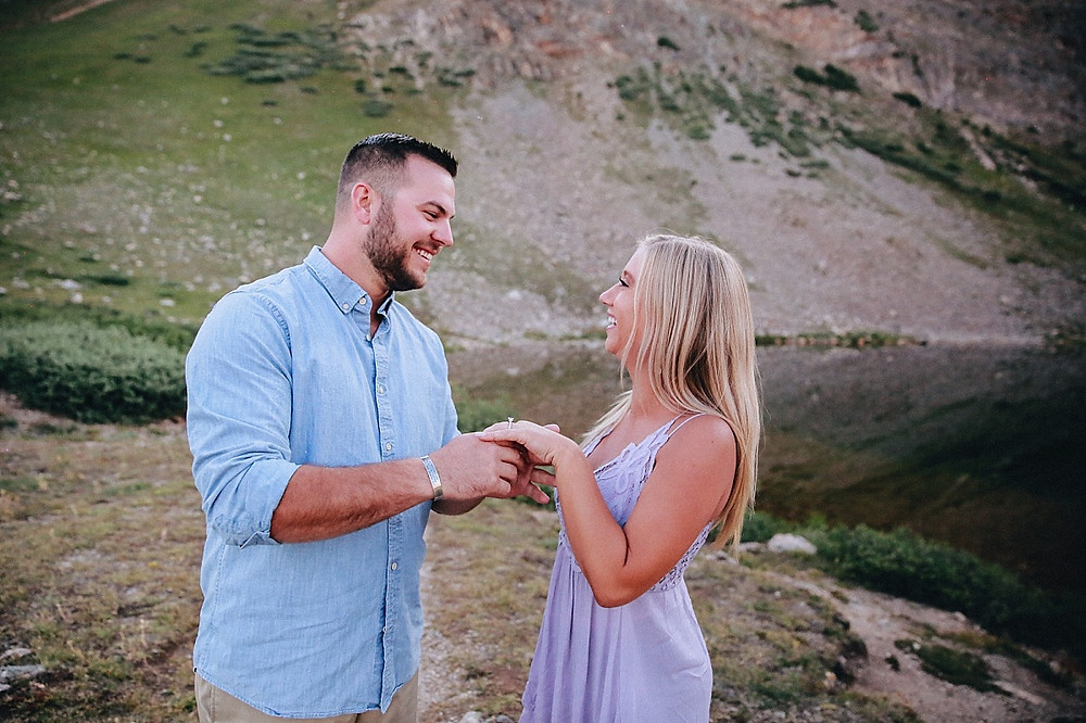 Breckenridge Proposal Photographer