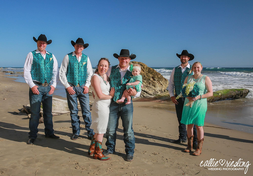 country beach wedding