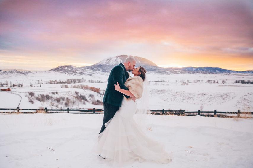 La Joya Dulce Ranch Winter Wedding