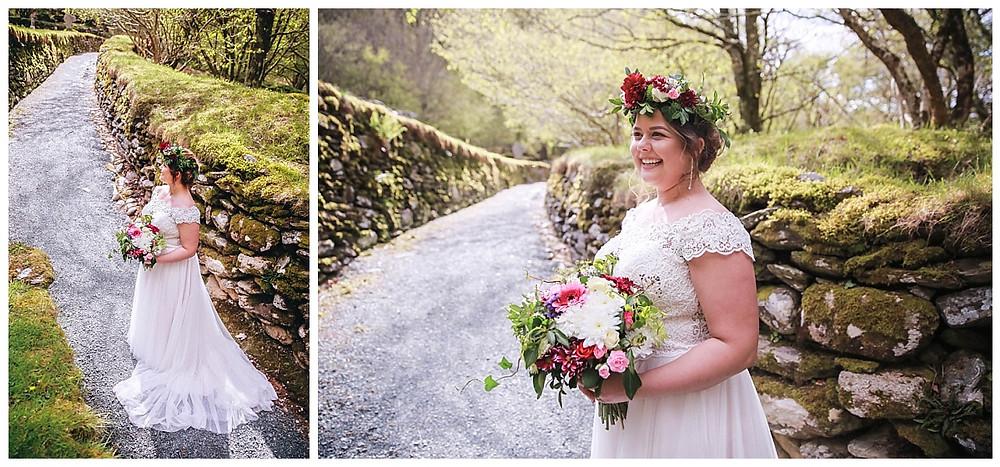Ireland elopement bride