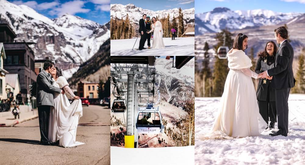 Telluride Winter Wedding Photographer