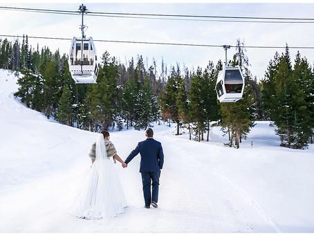 Vail Resort Wedding - Nathan + Ashlyn Winter Wonderland Wedding at Vail's Cucina and the 10th
