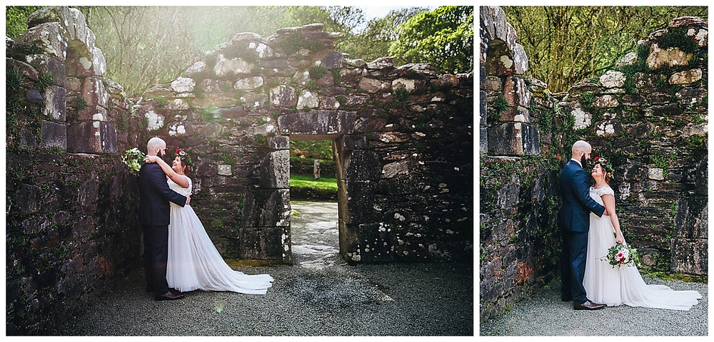 Glendalough Abbey Wedding