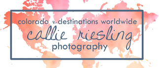 Callie Riesling Photography - Colorado Wedding Photographer