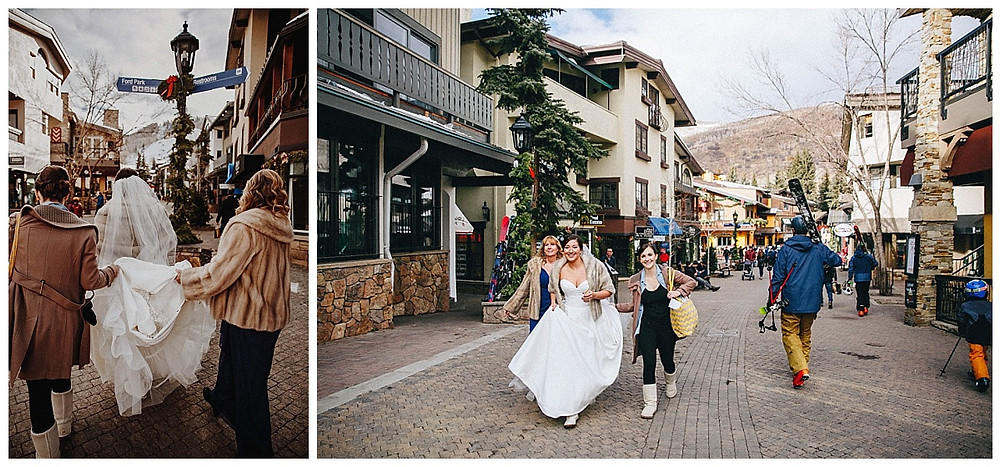 Vail Village Wedding