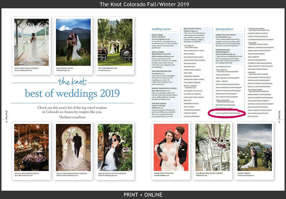 best wedding photogrphers in colorado