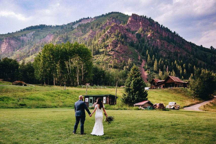 T-Lazy7 Ranch Aspen Wedding Photographer