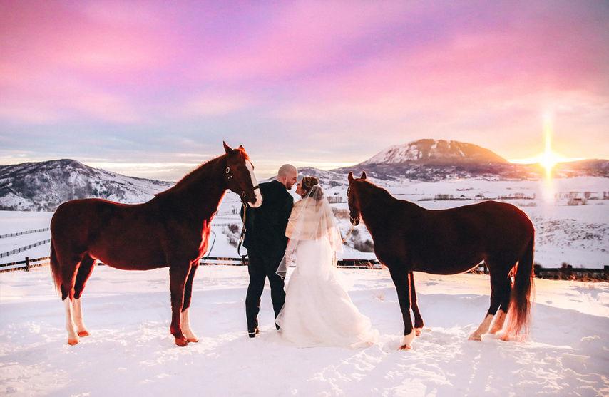 La Joya Dulce Winter Wedding
