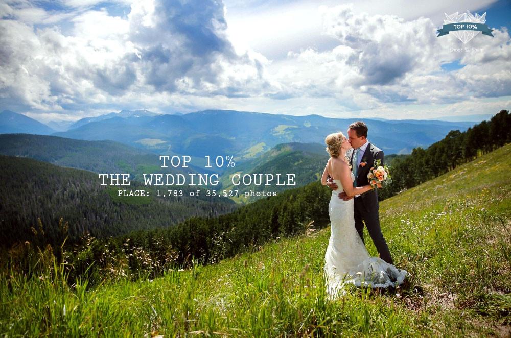 vail wedding deck photographer