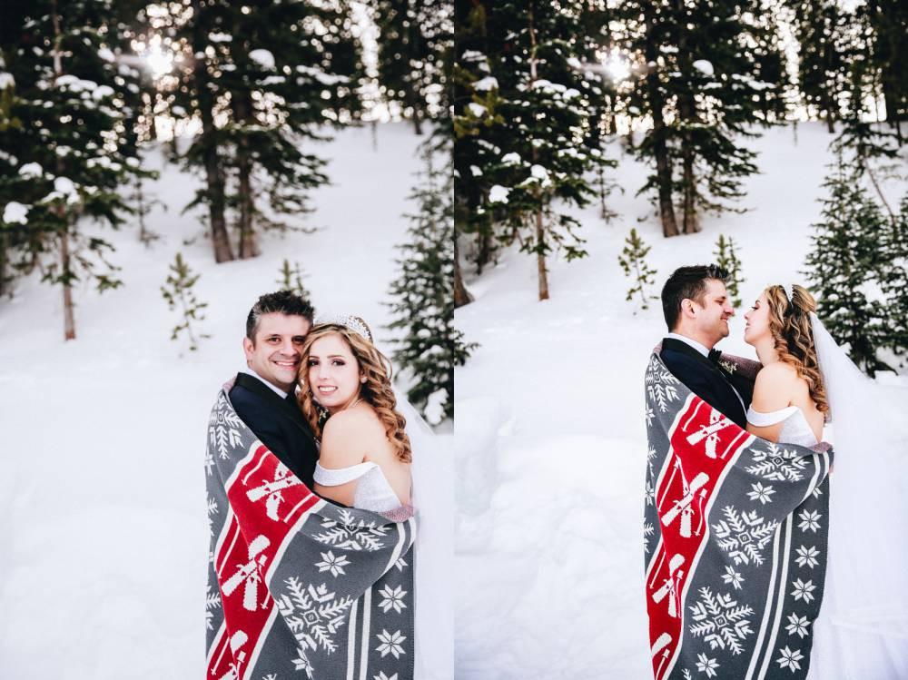 Silverthorne Winter Wedding Photographer