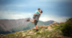 Colorado Hiking Engagement Photography