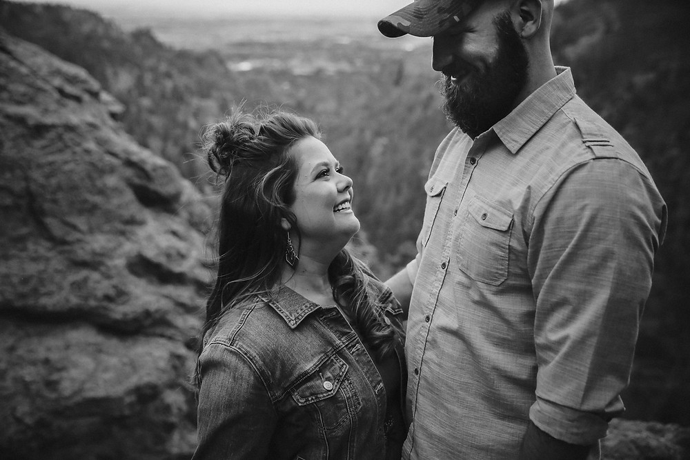 helen hunt falls engagement session