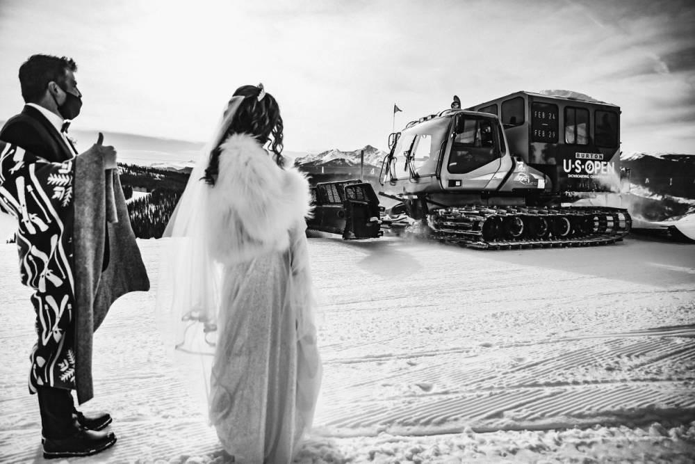 Colorado Ski Wedding