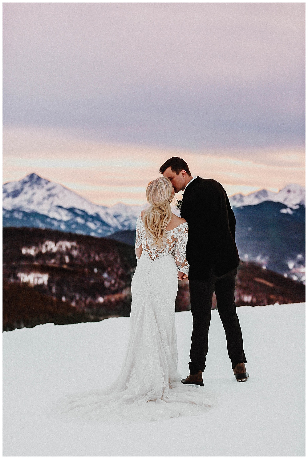 Callie Riesling Photography - Vail Winter Wedding
