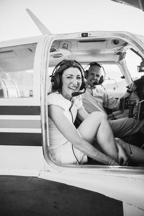 colorado private plane engagement session