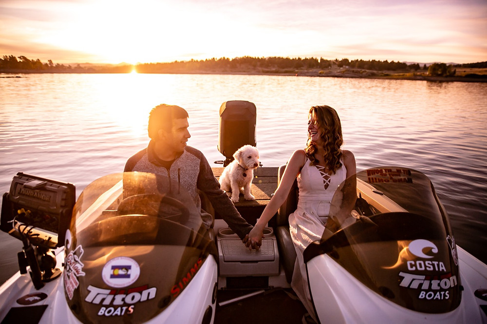 Lake Dillon Engagement Photographer