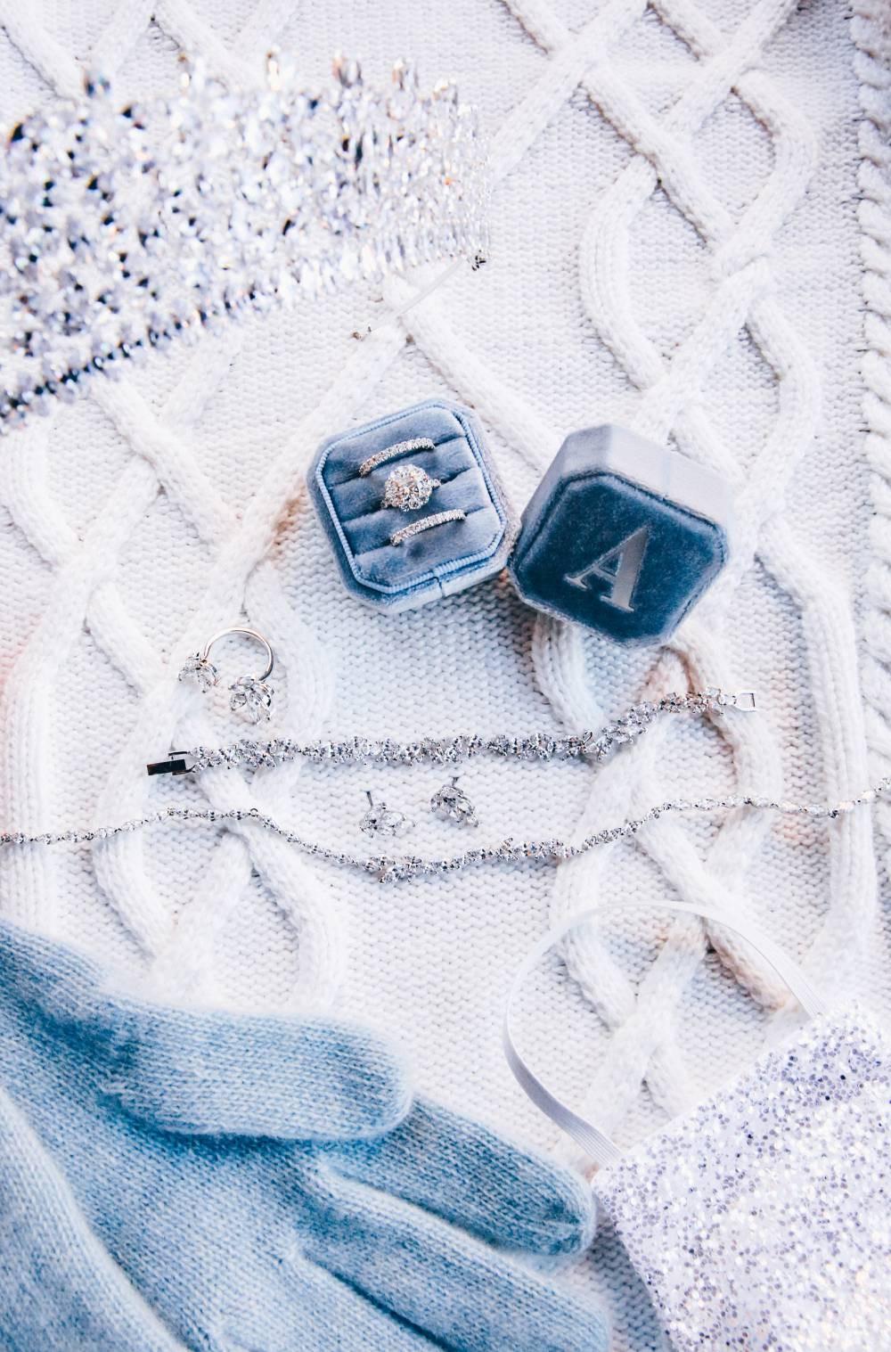 Winter Wedding Jewelry