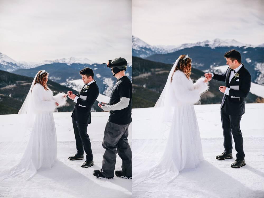 Vail Ski Elopement Photographer