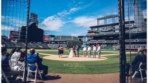 COORS FIELD WEDDING PHOTOGRAPHER | Alec + Chassidy's Colorado Baseball Wedding - PART 2